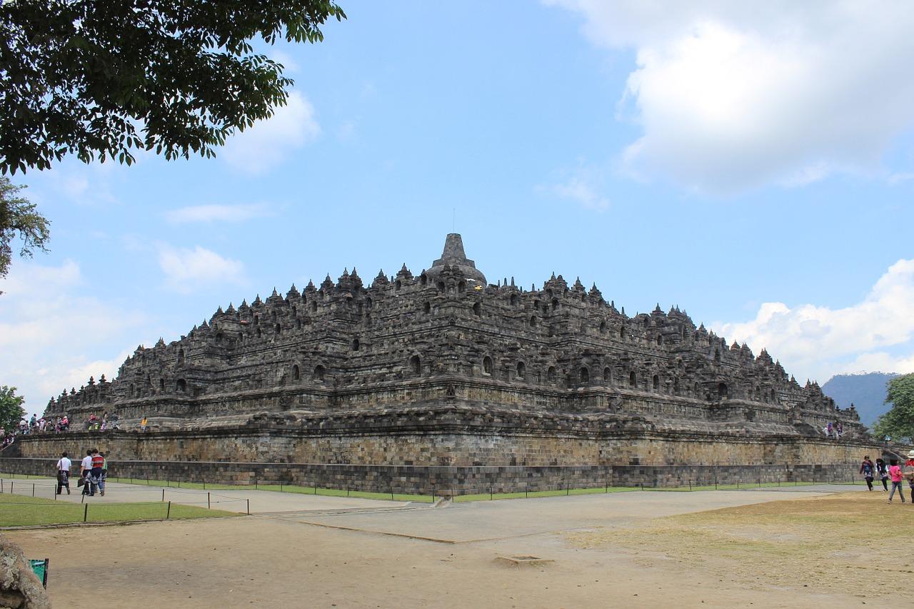 Historia świątyni Borobudur